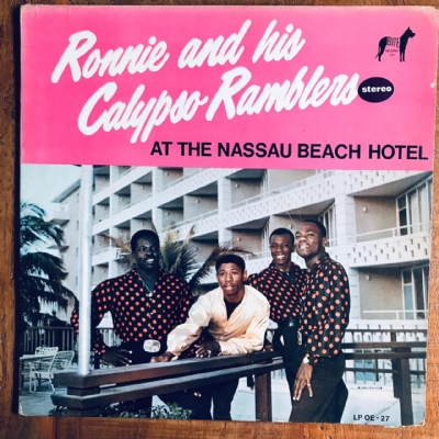 Disco de vinil usado - Ronnie & His Calypso Ramblers - At The Nassau Beach Hotel Lp