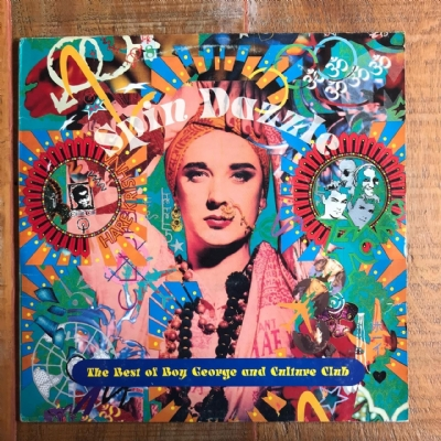 Disco De Vinil Usado - Boy George And Culture Club - Spin Dazzle Lp