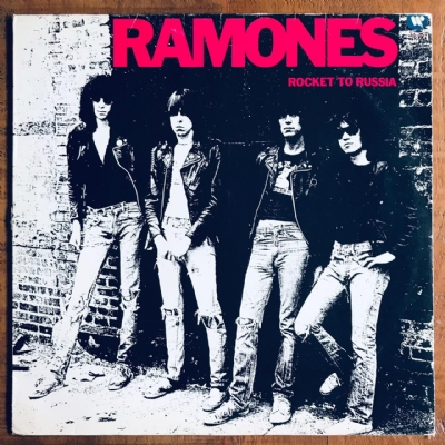 Disco De Vinil Usado - Ramones - Rocket To Russia Lp