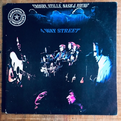Disco de vinil usado - Crosby, Stills, Nash & Young - 4 Way Street LP duplo
