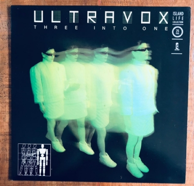 Disco de vinil usado - Ultravox - Three Into One Lp