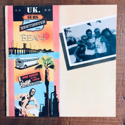 Disco de vinil usado - UK. Subs - Huntington Beach Lp