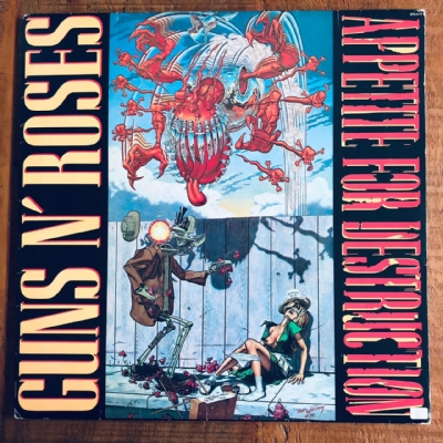 Disco de vinil usado - Guns N´ Roses - Appetite For Destruction Lp