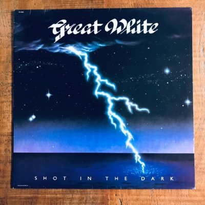 Disco de vinil usado - Great White - Shot In The Dark Lp