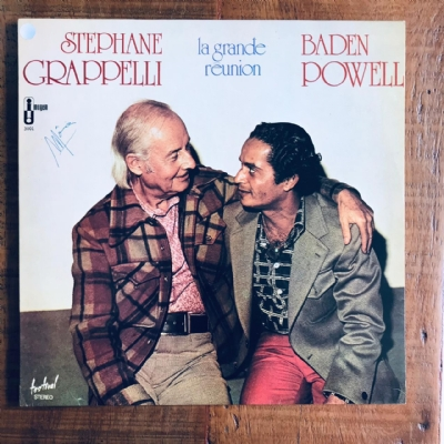 Disco de vinil usado - Stephane Grappeli - Baden Powell - La Grande Reunion Lp