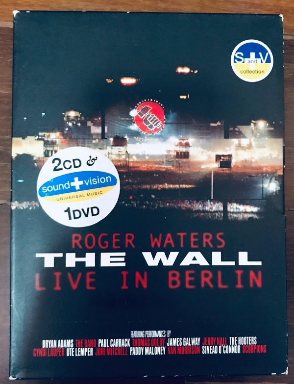 DVD - Roger Waters - The Wall Live In Berlin 02 CD 01 DVD Box Set