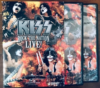 DVD - Kiss - Rock The Nation Live!