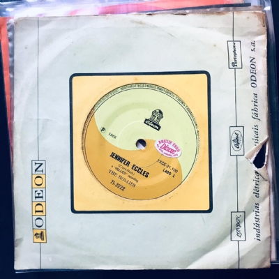 Single De Vinil Usado - The Hollies - Jennifer Eccles / King Midas In Reverse