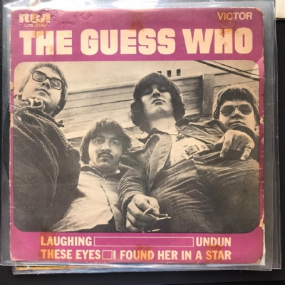 Single De Vinil Usado - Guess Who - Laughing / Undun / These Eyes / I found Her