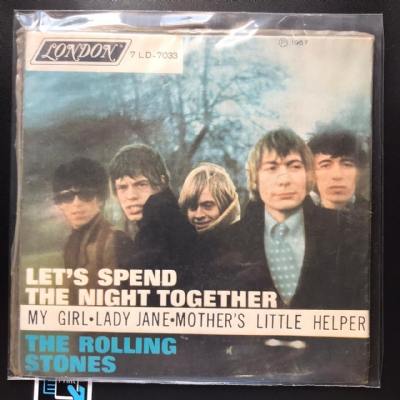 Single De Vinil Usado - The Rolling Stones - Let´s Spend The Night Together EP