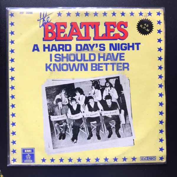 Single De Vinil Usado - The Beatles - A Hard Day's Night / I Should Have Known Better