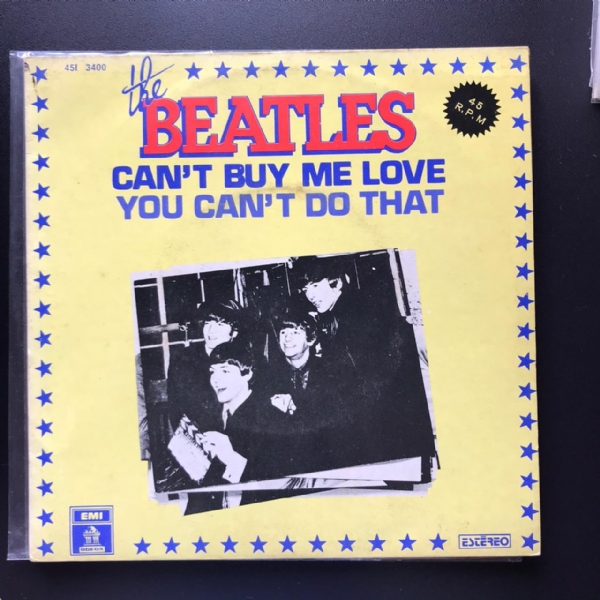 Single De Vinil Usado - The Beatles - Can't Buy Me Love / You Can't Do That