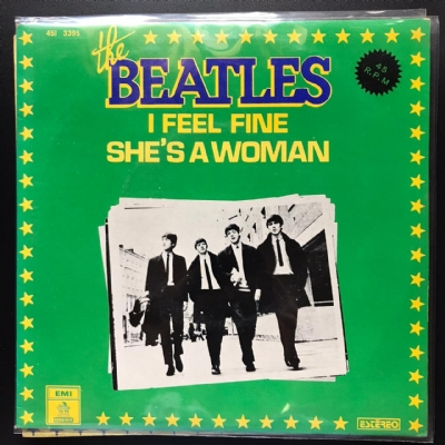 Single De Vinil Usado - The Beatles - She's A Woman / I Feel Fine