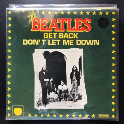 Single De Vinil Usado - The Beatles - Get Back / Don´T Let Me Down