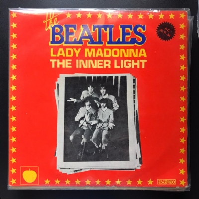 Single De Vinil Usado - The Beatles - Lady Madonna / The Inner Light