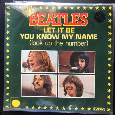 Single De Vinil Usado - The Beatles - Let It Be / You Know My Name