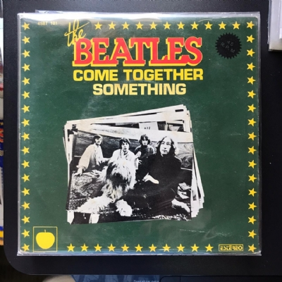 Single De Vinil Usado - The Beatles - Come Together / Something