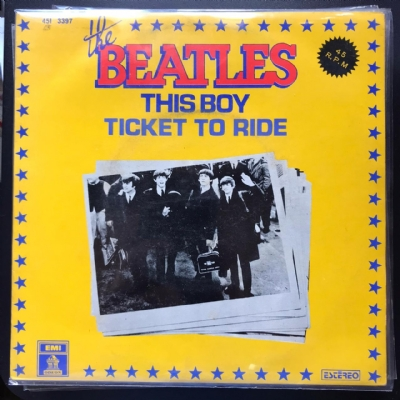 Single De Vinil Usado - The Beatles - This Boy / Ticket To Ride