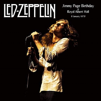 Disco De Vinil Novo - Led Zeppelin - Jimmy Page Birthday At The Royal Albert Hall 9 January 1970 Lp Duplo 180g