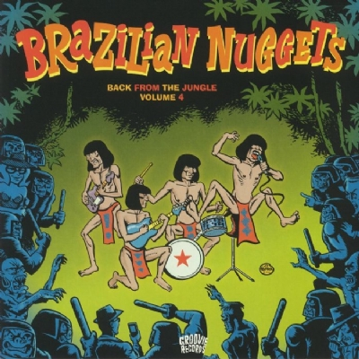 Disco De Vinil Novo - Brazilian Nuggets - Back From The Jungle Volume 4 Lp 180 G