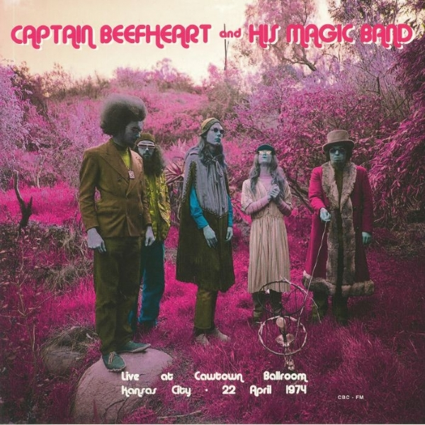 Disco De Vinil Novo - Captain Beefheart and His Magic Band - Live At Cowtown Ballroom 1974 Lp 180 G