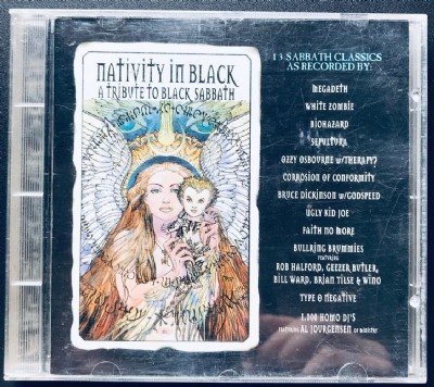 CD usado - Nativity In Black - A Tribute To Black Sabbath