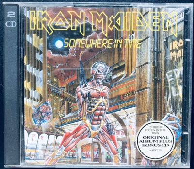 CD usado - Iron Maiden - Somewhere In Time Com CD Bonus Duplo
