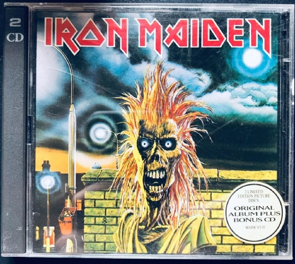 CD usado - Iron Maiden - Iron Maiden Com CD Bonus Duplo