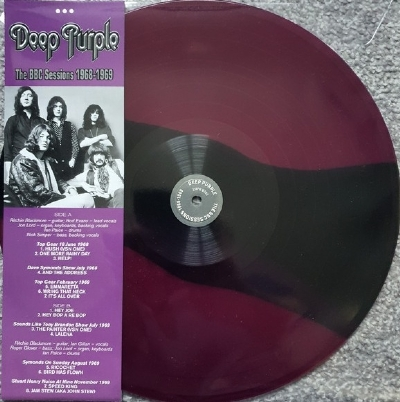 Disco De Vinil Novo - Deep Purple - The BBC Sessions 1968-1969 Lp 180 G Multicolorido