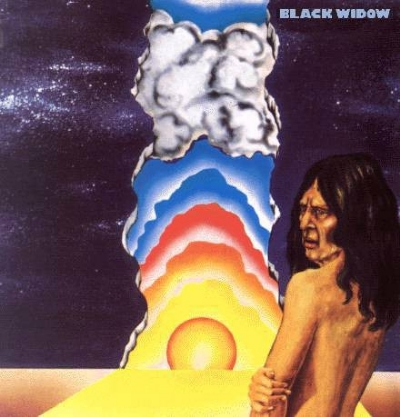 Disco De Vinil Novo - Black Widow - Black Widow Lp 180g Colorido