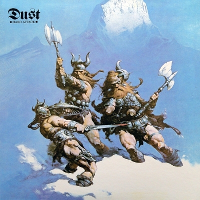 Disco De Vinil Novo - Dust - Hard Attack Lp 180g Akarma