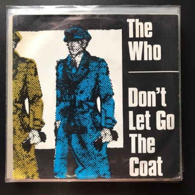 Single De Vinil Usado - The Who - Don´t Let Go The Coat / You