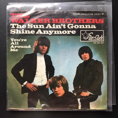 Single De Vinil Usado - The Walker Brothers - The Sun Ain´t Gonna Shine Anymore / You´re All Around Me