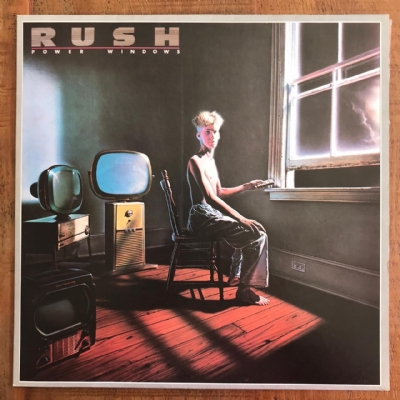 Disco de vinil usado - Rush - Power Windows Lp