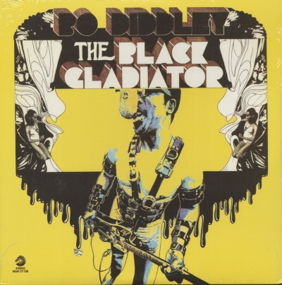 Disco De Vinil Novo - Bo Diddley - The Black Gladiator Lp 180 G