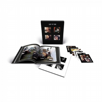 CD Novo - The Beatles - Let It Be Super Deluxe 5 CD 1 Blu-Ray Box Set