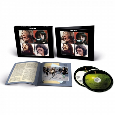 CD Novo - The Beatles - Let It Be Deluxe 2 CD