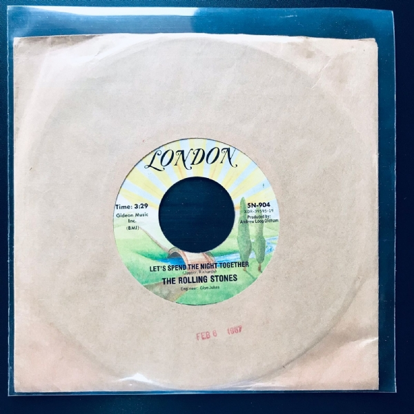 Single De Vinil Usado - The Rolling Stones - Let´s Spend The Night Together / Ruby Tuesday
