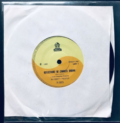 Single De Vinil Usado - Rupert´s People - Reflections Of Charles Brown / Hold On
