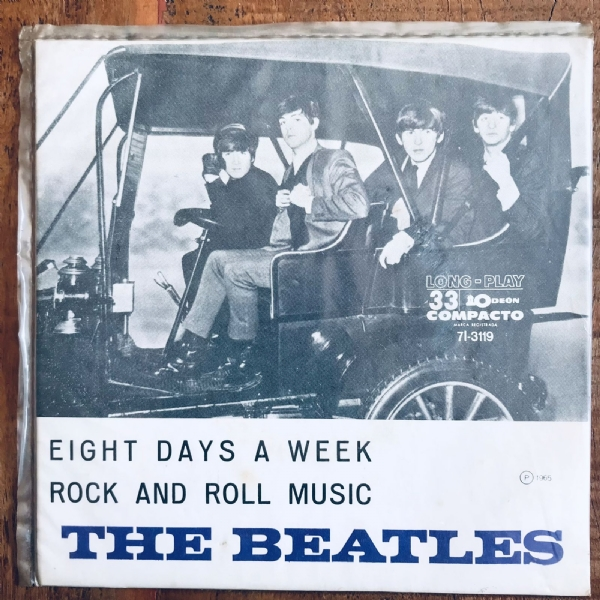 Single De Vinil Usado - The Beatles - Eight Days A Week / Rock And Roll Music