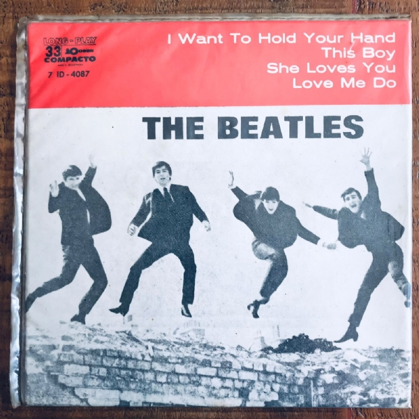 Single De Vinil Usado - The Beatles - I Want To Hold Your Hand EP
