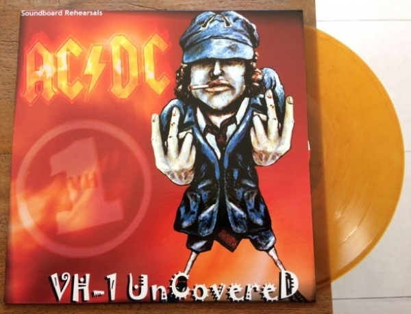 DISCO DE VINIL NOVO - AC/DC - VH-1 UNCOVERED LP COLORIDO