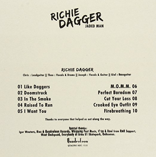DISCO DE VINIL NOVO - RICHIE DAGGER - JADED MAN LP IMG-1153871