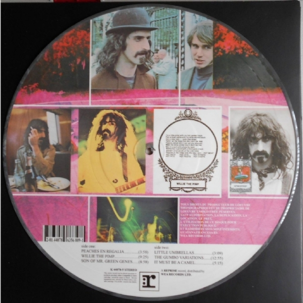 Disco De Vinil Novo - Frank Zappa - Hot Rats Lp Picture Disc IMG-1955825