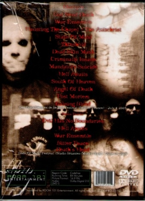 DVD - SLAYER - POST MORTEM BELFORT IMG-1225148