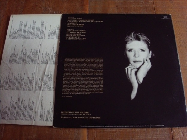 DISCO DE VINIL USADO - MARIANNE FAITHFULL - STRANGE WEATHER LP IMG-1232377