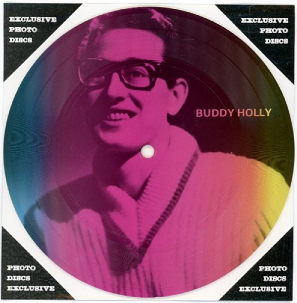 SINGLE DE VINIL NOVO - BUDDY HOLLY - READY TEDDY / IT´S TOO LATE PICTURE DISC
