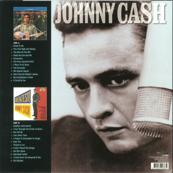 DISCO DE VINIL NOVO - JOHNNY CASH - SONGS OF OUR SOIL / GREATEST! LP 180 G IMG-1262520