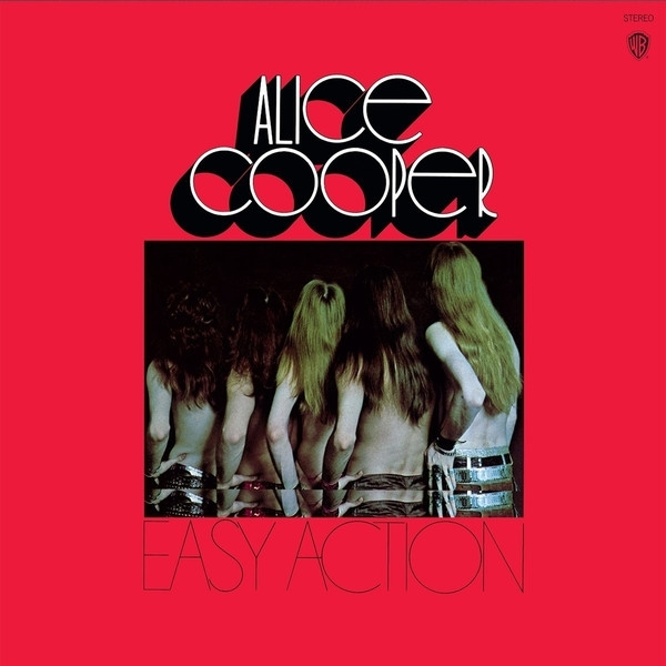 DISCO DE VINIL NOVO - ALICE COOPER - EASY ACTION LP COLORIDO