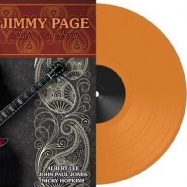 DISCO DE VINIL NOVO - JIMMY PAGE - PLAYIN´UP A STORM LP COLORIDO IMG-1264584